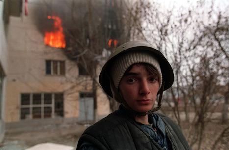 Burning house in Chechnya | Genocide Tessa Krager | Scoop.it