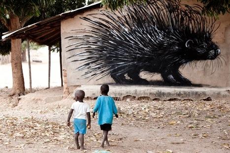 Spreading Street Art in Africa - My Modern Metropolis   Art   Scoop.it