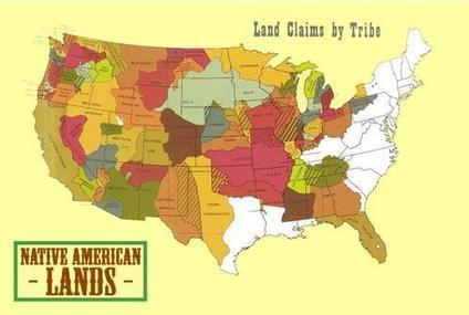 Animated Map Shows Loss of Western Tribal Lands From 1784 - Native Warriors | COMPUTATIONAL THINKING and CYBERLEARNING | Scoop.it