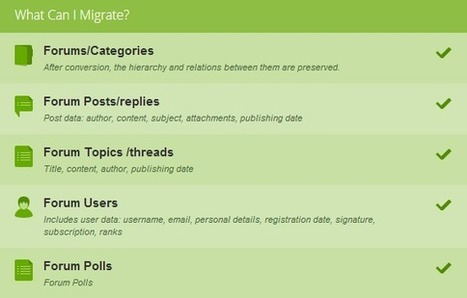 Migrate Your Forum Content from vBulletin to phpBB with Ease [+Video] - CMS2CMS   Forum Migration   Scoop.it