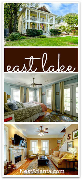 East Lake Oakhurst Home of the Week | 24 2nd Ave NE | A | Atlanta Intown Living | Scoop.it