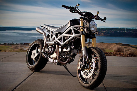 BikeEXIF | Ducati Hypermotard custom | Ductalk Ducati News | Scoop.it