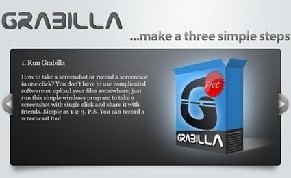 Grabilla : logiciel gratuit pour faire des screenshot et des screencast | E-pedagogie, apprentissages en numérique | Scoop.it