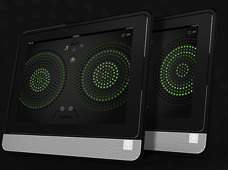 Macworld/iWorld 2013: Belkin's Thunderstorm Brings Immersive Sound To The iPad | From the Apple Orchard | Scoop.it