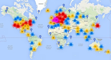 Mapping How Tor's Anonymity Network Spread Around the World | WIRED | Reporting | Scoop.it