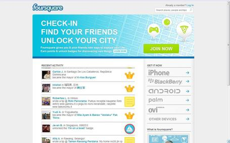 foursquare | Social media kitbag | Scoop.it