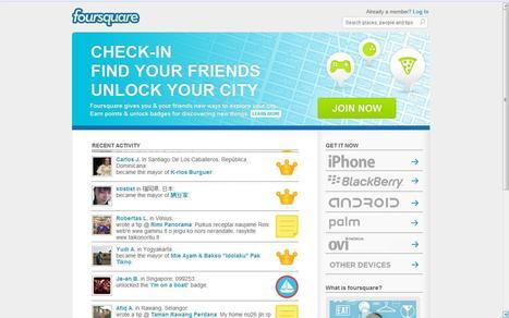 foursquare | Social media kitbag | Scoop.it