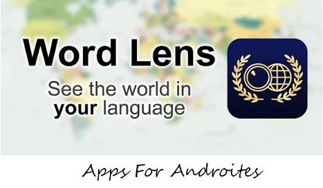 See The World In Your Own Language With 'Word L... | Realidad Aumentada | Scoop.it