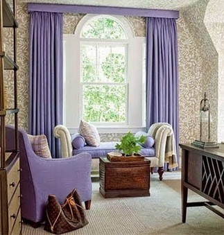 Top 10 trends living room curtain styles, colors and materials part 1 | living room design | Scoop.it