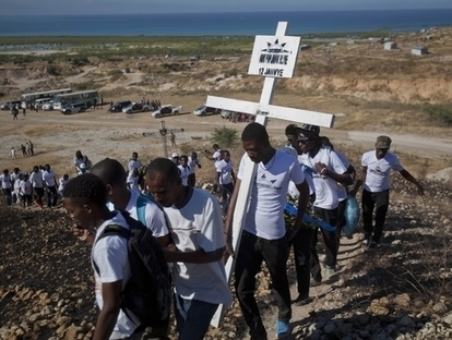 Haiti quietly marks quake's 3rd anniversary | Earthquake Shatters Lives of Haitian Survivors | Scoop.it