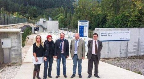 Burgui y Uztárroz disponen ya de depuradoras de aguas residuales, que dan servicio a casi un millar de habitantes   Infraestructura Sostenible   Scoop.it