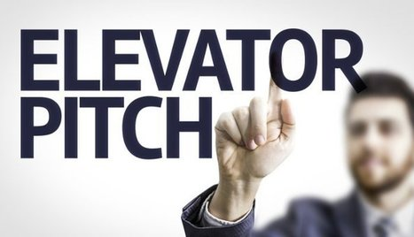 The Art of the Elevator Pitch | English for HR and working life | Scoop.it