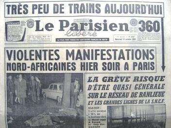 Il y a 55 ans, les médias et le massacre du 17 octobre 1961 | DocPresseESJ | Scoop.it