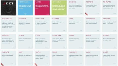 jQuery pour les nuls : jquery-jkit | Design + Epublishing + Ebook + Graphisme | Scoop.it