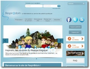 Respir@dom: lancement du site et du serious game - Morphée dans ... | serious game for better health | Scoop.it