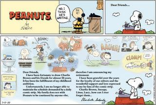I nuovi fumetti dei Peanuts sono un tradimento della volontà di Charles M. Schulz? | DailyComics | Scoop.it