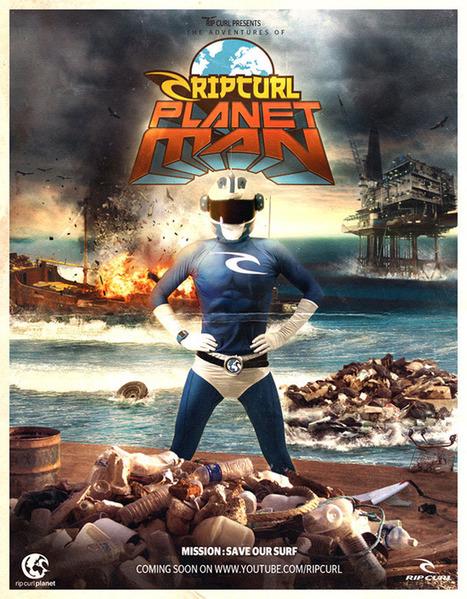 Planetman : l'écho du surf by RipCurl | Ecofriendly brands | Scoop.it