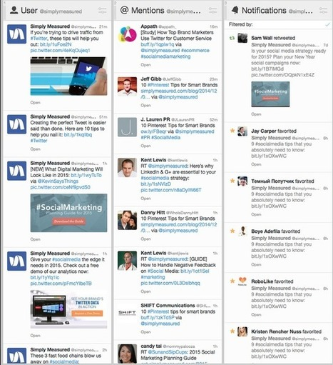 Pocket : The 6 TweetDeck Columns Every Community Manager Should Have   MediosSociales   Scoop.it