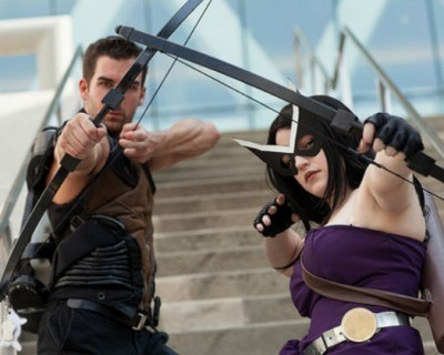 Cosplay of the Day: Hawkeye and Hawkingbird | Cosplay News | Scoop.it