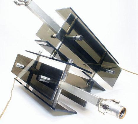 Linear Modern Table Lamps In Lucite & Chrome - Interior Ready Condition - Mid Century Eames Karl Springer Laurel Lightolier Era Credenza   S U B L I M E * D E S I G N   Scoop.it