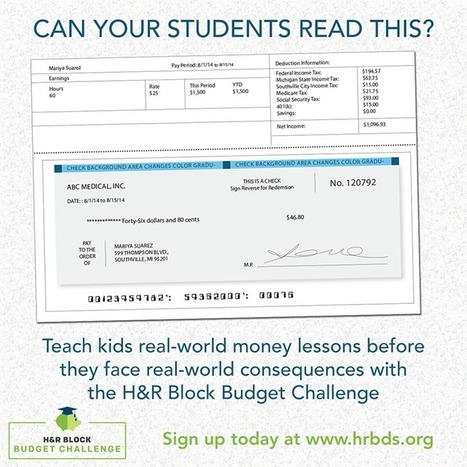 Why We Need Financial Literacy Resources For Teachers - | School Library Advocacy | Scoop.it