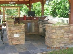 Six Steps for Planning Your Outdoor Kitchen and Living Space | Larry Riley | Scoop.it