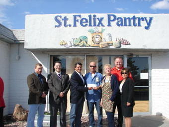 Pitching In: Masons donate $40K to St. Felix Pantry - Albuquerque Journal | santjust.cat | Scoop.it