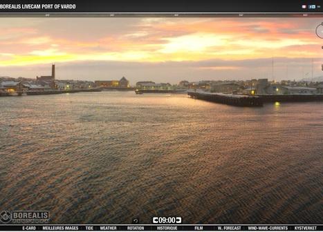 regardez les #webcams de #Vadsø et #Vardø : quelle #lumière, ce matin ! #Norvège | Hurtigruten Arctique Antarctique | Scoop.it