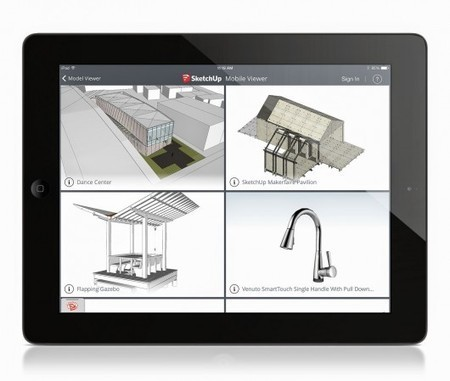 SketchUp Announces Mobile Viewer for iPad | ArchDaily | iPads in Education Daily | Scoop.it
