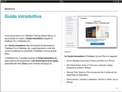 Su iBookstore i nuovi corsi avanzati per imparare ad usare FileMaker - iPhone Italia Blog | Learning Filemaker | Scoop.it