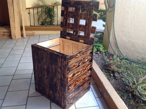 Laundry storage | DIY Pallet Projects | Scoop.it