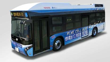 Toyota fuel cell bus tested in Tokyo | Sustainable Futures | Scoop.it
