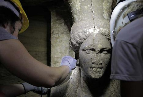Grèce : le site archéologique d'Amphipolis laissé à l'abandon   Blanc grec   Scoop.it