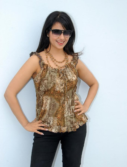 Saloni in Tops and Pants Shooting for Teluguammai Movie Shoot | Fashion Divas | Scoop.it