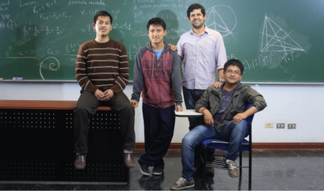 Tres medallas de oro y una de plata en la XXX Olimpiada Iberoamericana de Matemática   Managing Technology and Talent for Learning & Innovation   Scoop.it