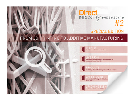 DirectIndustry e-magazine: From 3D Printing to Additive Manufacturing | Digital Design and Manufacturing | Scoop.it