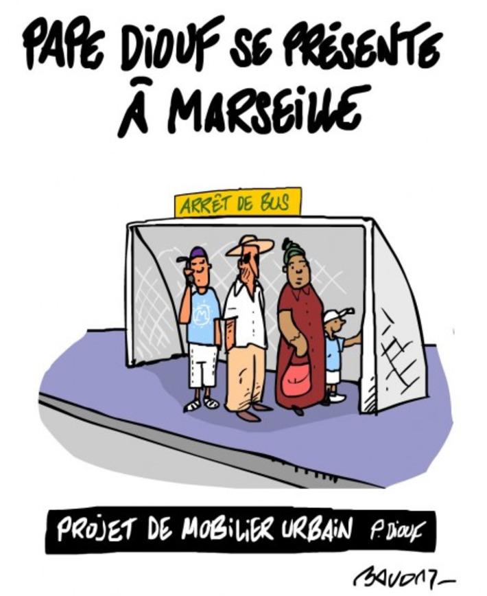 Municipales: Pape Diouf se présente à Marseille | Baie d'humour | Scoop.it