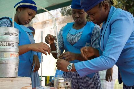 Nigerian girls build robots to tackle waste | Technology Supporting Social Impact | Scoop.it