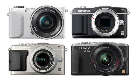 2013 Entry level mirrorless camera comparison - Blog for micro four third and competing cameras | COMPACT VIDEO & PHOTOGRAPHY | Scoop.it