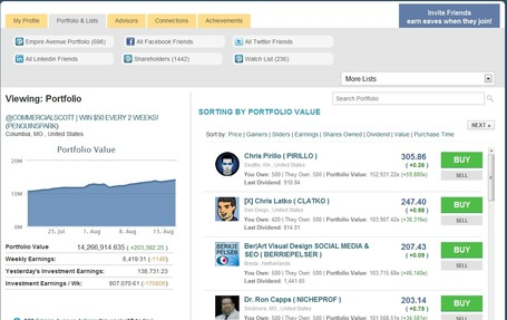 "Empire Avenue portfolios: the fastest way to go through them | ""#Google+, +1, Facebook, Twitter, Scoop, Foursquare, Empire Avenue, Klout and more"" 