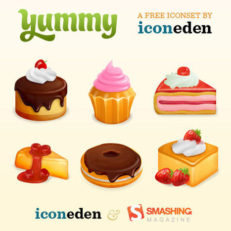 Collection of Stunning Free Food Icons | 7plusDezine | Web & Graphic Design | Scoop.it