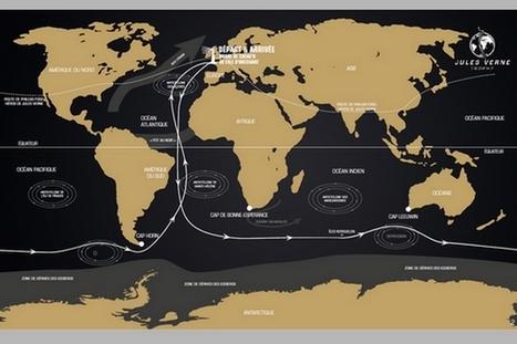 Trophée Jules Verne : un voyage extraordinaire de 7.200 lieues sur les mers | Jules Verne News | Scoop.it