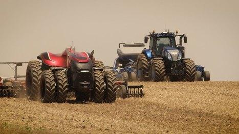 The CNH Industrial Autonomous Tractor Concept (FRANÇAIS) | Grain du Coteau : News ( corn maize ethanol DDG soybean soymeal wheat livestock beef pigs canadian dollar) | Scoop.it