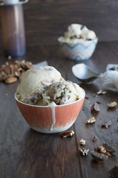 Banana Pecan Chocolate Chunk Hot Fudge Ice Cream   Recipes   Scoop.it