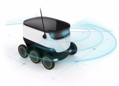 Skype co-founders want autonomous robots to deliver parcels | Gizmag | Cultibotics | Scoop.it