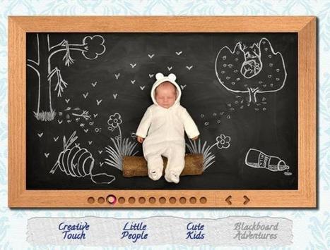 Fotografía infantil original: las aventuras del bebé sobre una pizarra | #FotoTipsNiños | Scoop.it