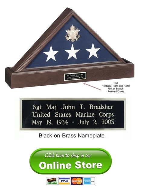 Flag Cases | Military Flag Case | Flag Display Case | Military Wives | Scoop.it