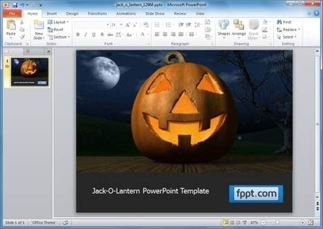 PowerPoint Templates for Halloween 2013 | Technology | Scoop.it
