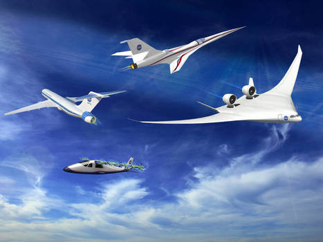 NASA Proposes Reviving Old Plans for Futuristic X-Planes | New inventions | Scoop.it