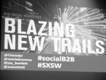 Recap of B2B Social Marketing Panel: Text100 Brings Leading Enterprise Brands Together at SXSW | Consumer Engagement Marketing | Scoop.it